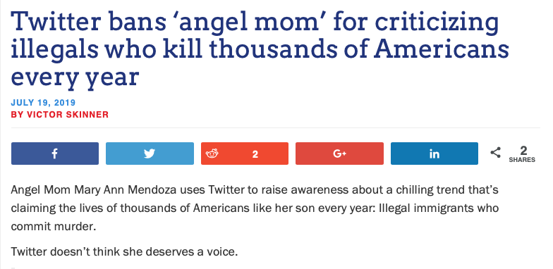 Twitter Bans Angel Mom Founder